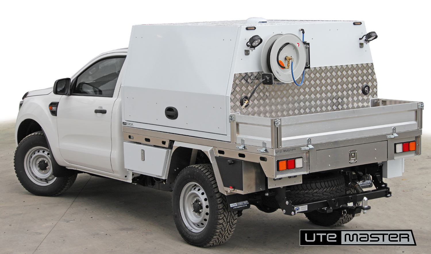Deck Service Body Ford Ranger Flat Deck Storage Commercial Ute Mechanic Fitout
