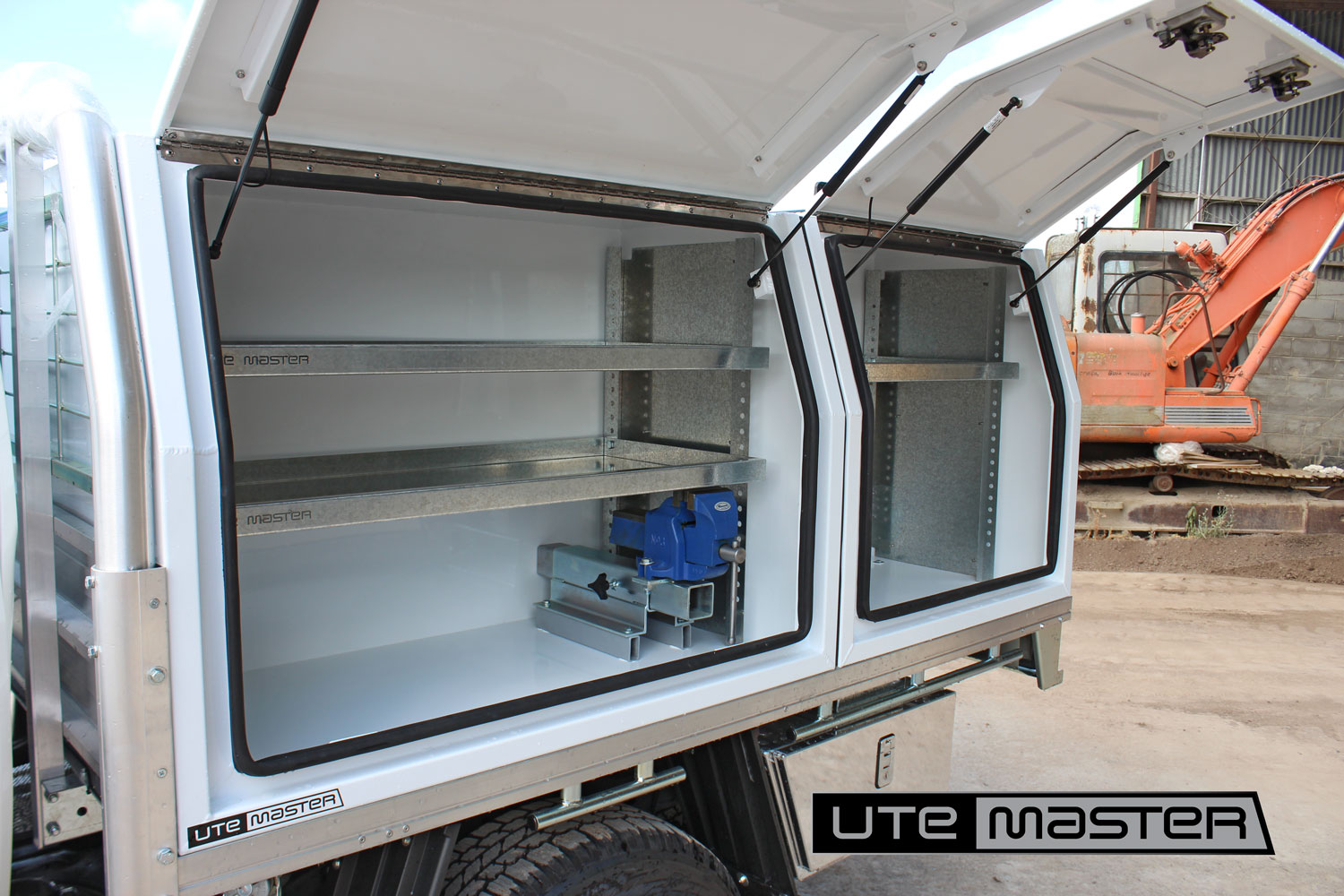Utemaster Toolbox Shelving Dividers Ute Toolboxes