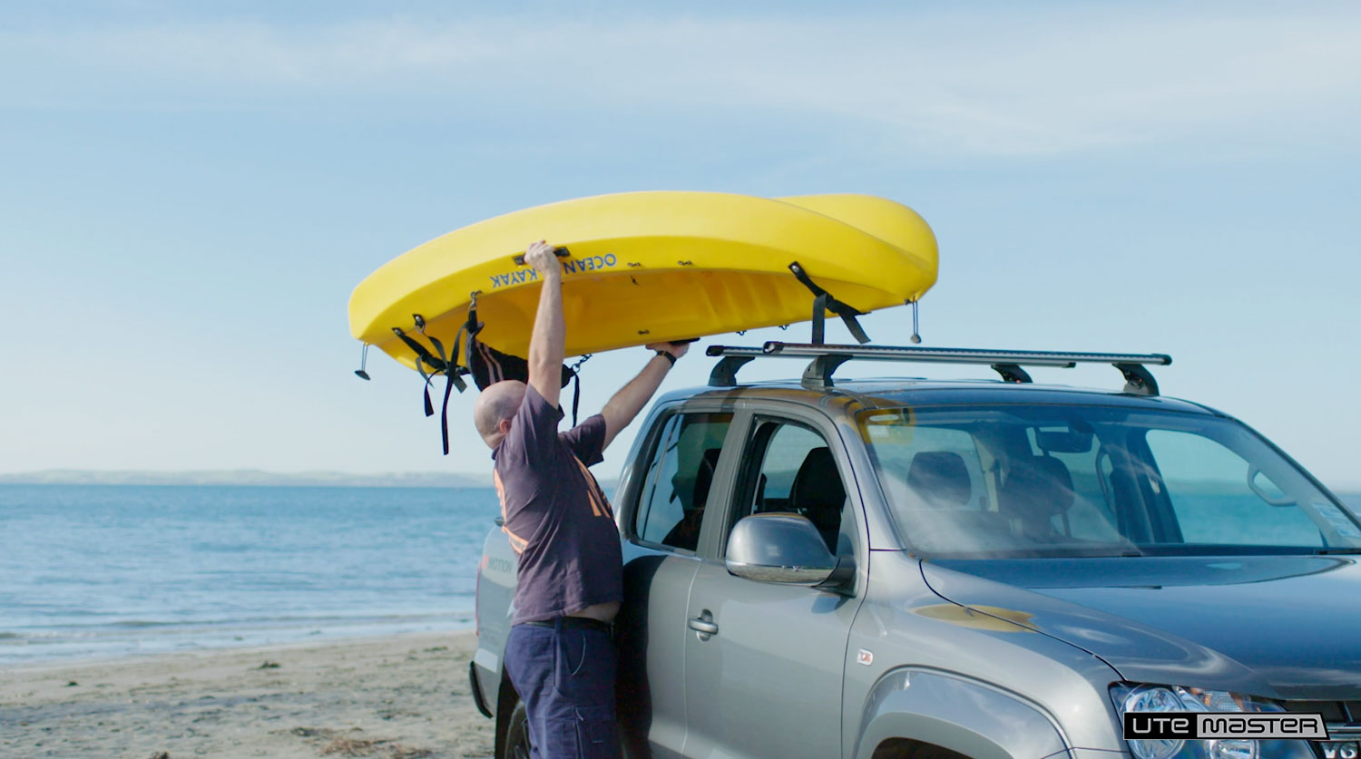 Back Injury Kayak Dropracks by Utemaster Roof Racks Lowerable Roof Access