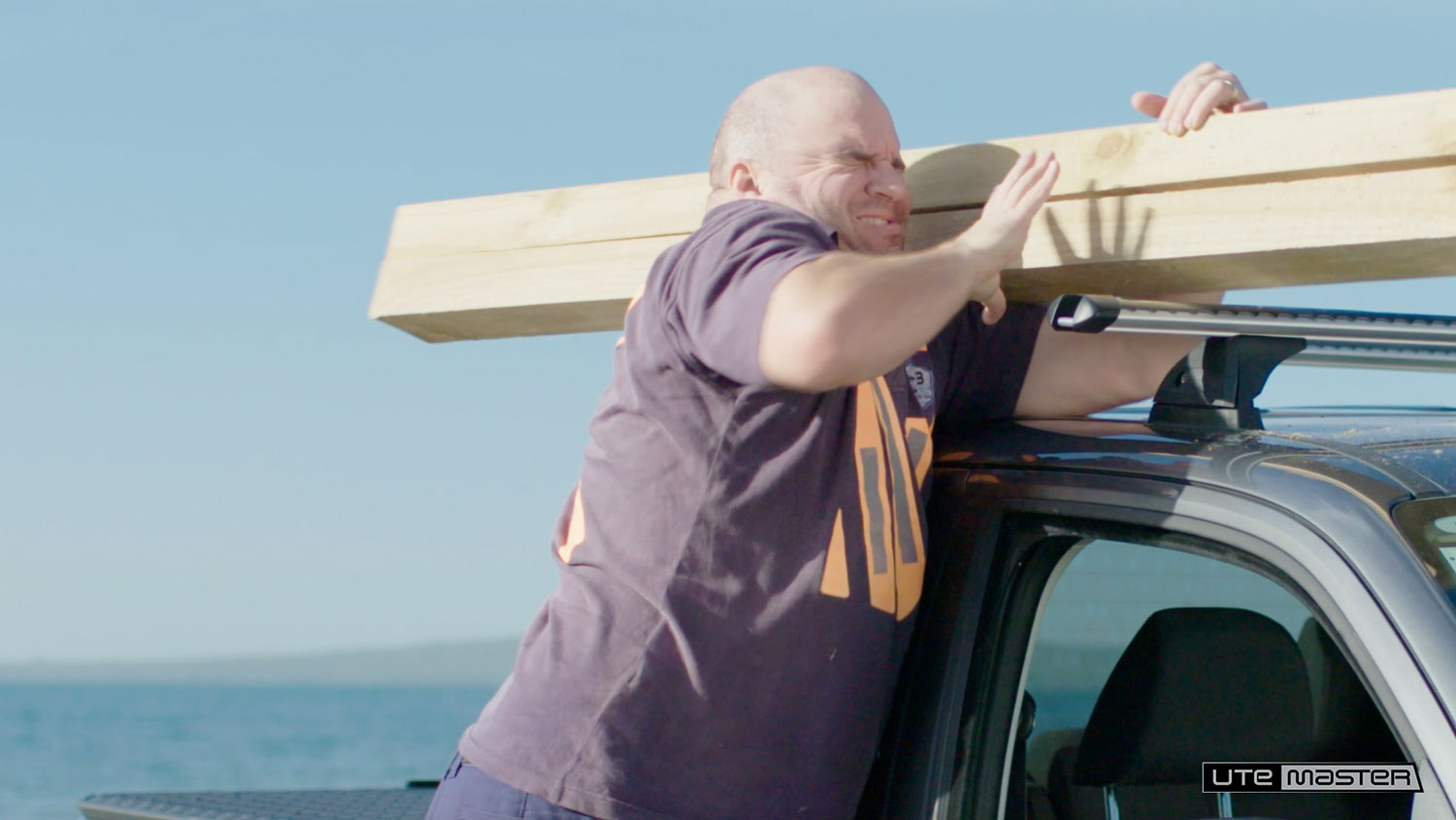 Timber Shoulder Pain Dropracks by Utemaster Roof Racks Lowerable Roof Access