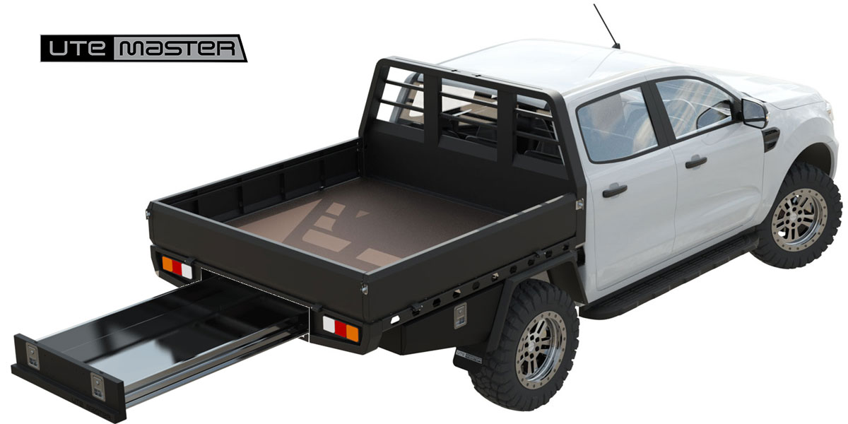 Utemaster Steel Flat Deck The Boss Commercial Ute Tray