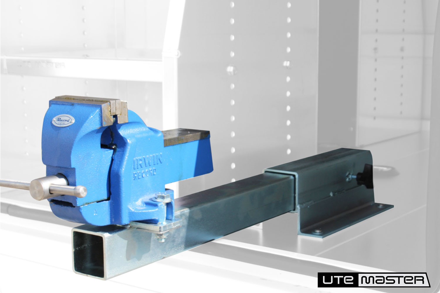 Lift Off Toolbox to suit Commercial Ute Removable Toolbox by Utemaster Lift off box body Slide Out Vice
