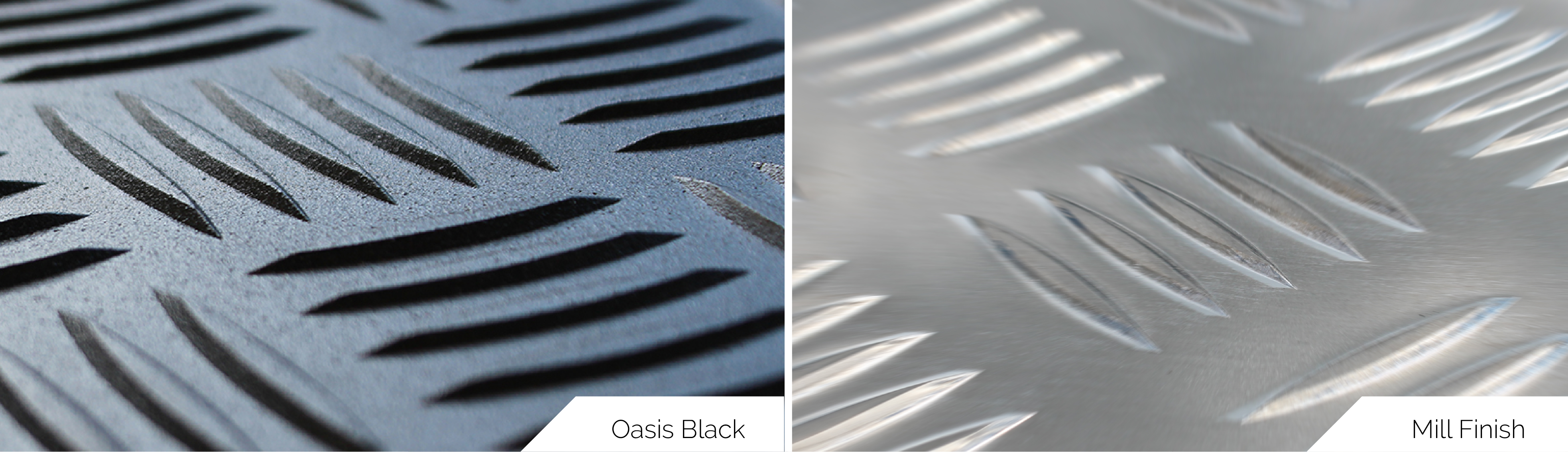 Utemaster Load Lid Oasis Black vs Mill Finish
