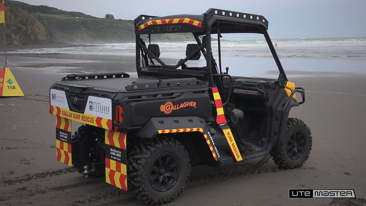 Load-Lid to suit the Can-Am HD8 - Raglan Surf Lifesaving Club