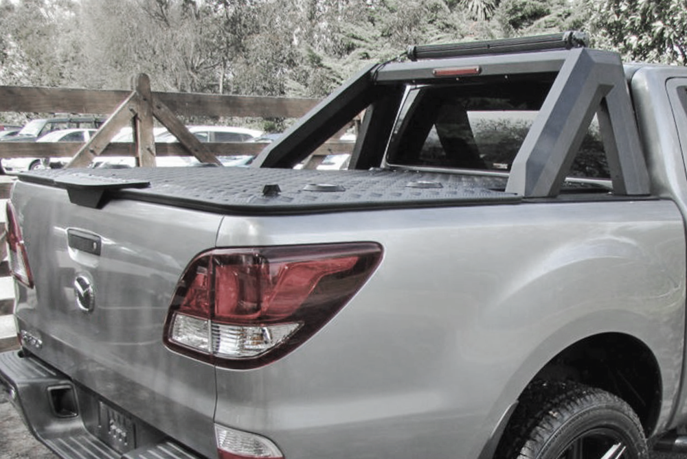 Mazda BT50 Load Lid with Destroyer Sports Bars