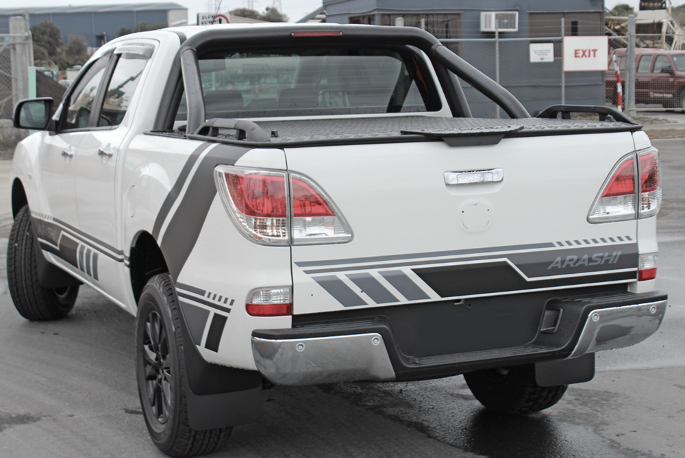 Mazda BT50 Load Lid with Sports Bars