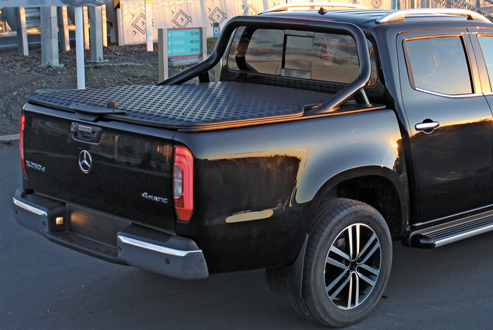 Mercedes Benz X Class Load Lid Sports Bars Utemaster