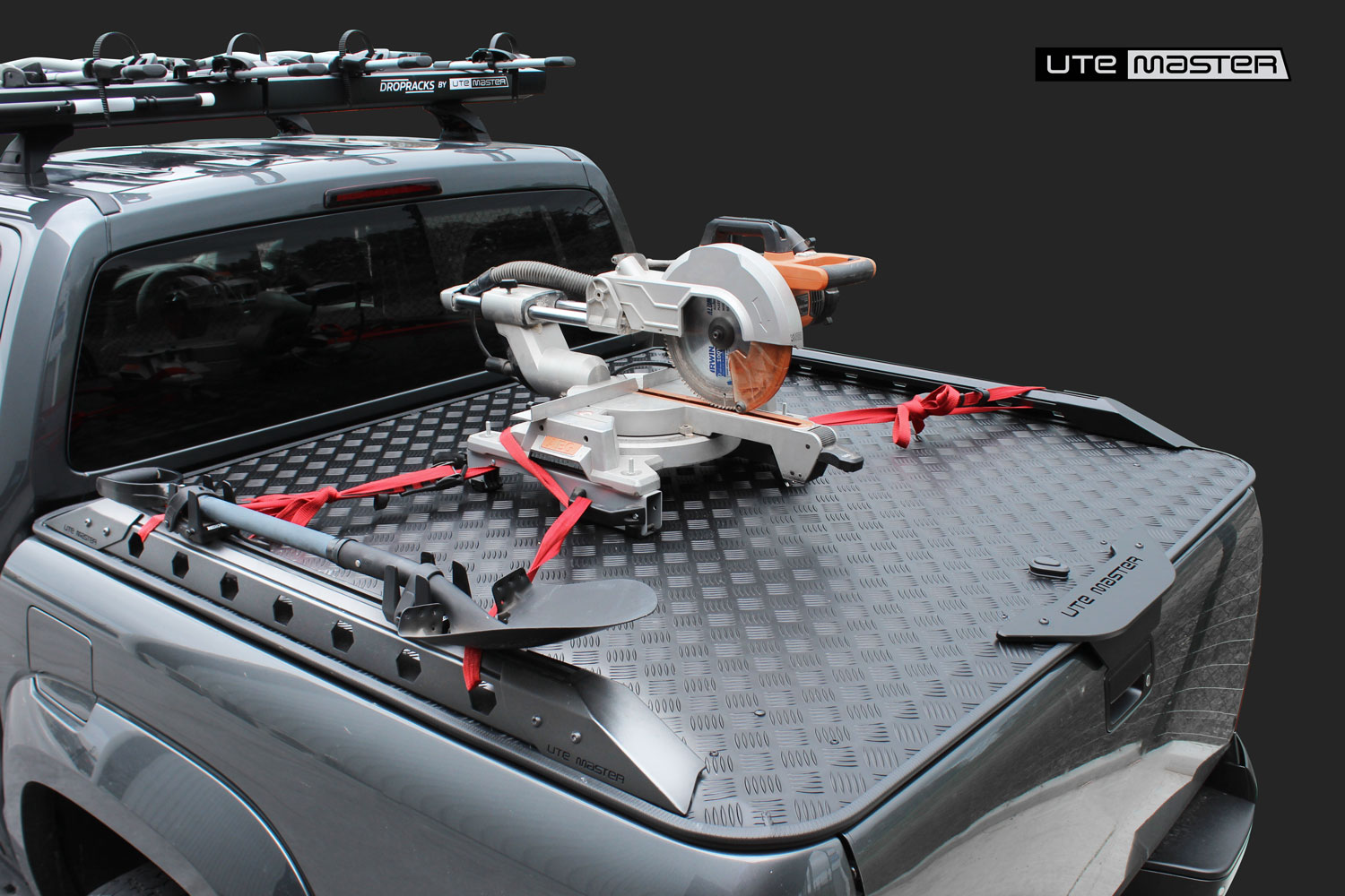 Utemaster Destroyer Side Rails Volkswagen Amarok Hard Lid
