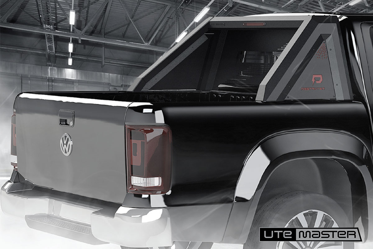 Destroyer Sports Bars to suit Volkswagen Amarok Black