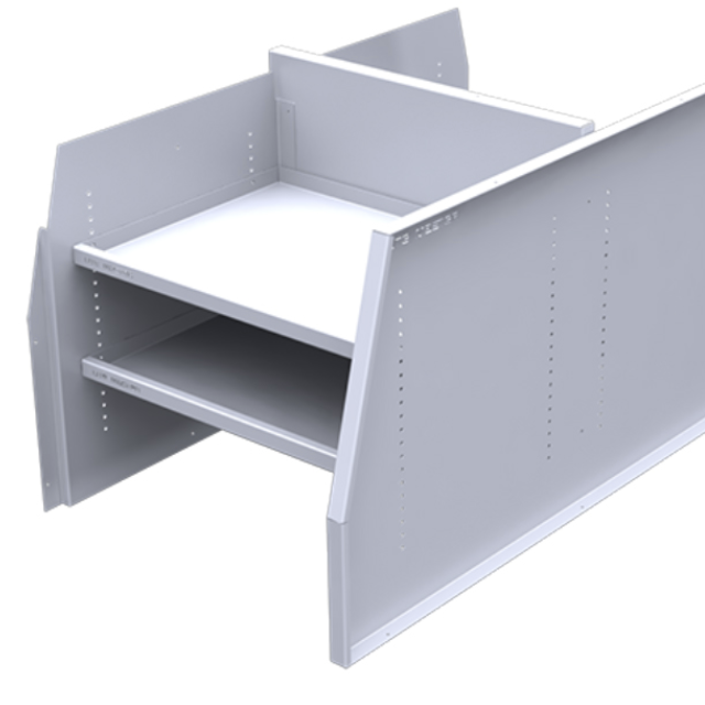 Service Body Shelving Dividers