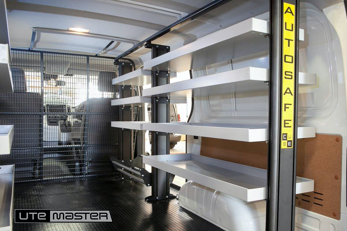 Utemaster Cube Van Shelving to suit Mitsubishi Express Internal Fitout