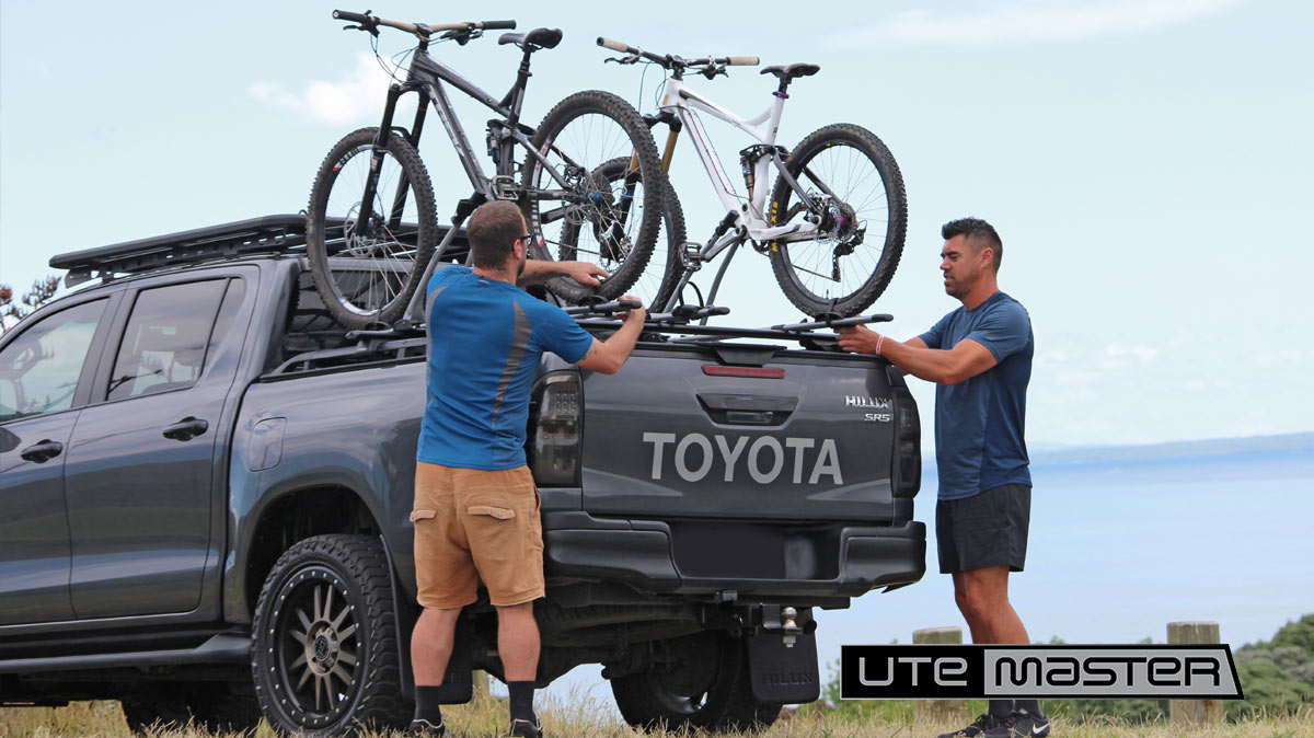 How to carry a bike on a ute