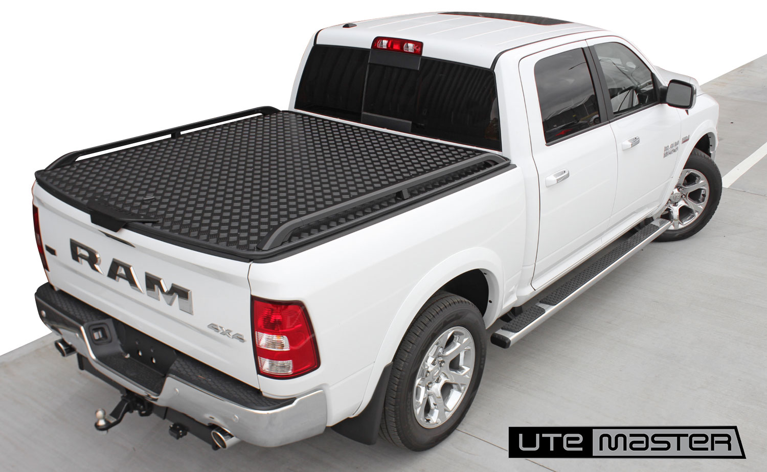 Hard Lid to suit Dodge Ram 1500 Roller Shutter Tonneau Cover Alternative Load Lid by Utemaster Tough White