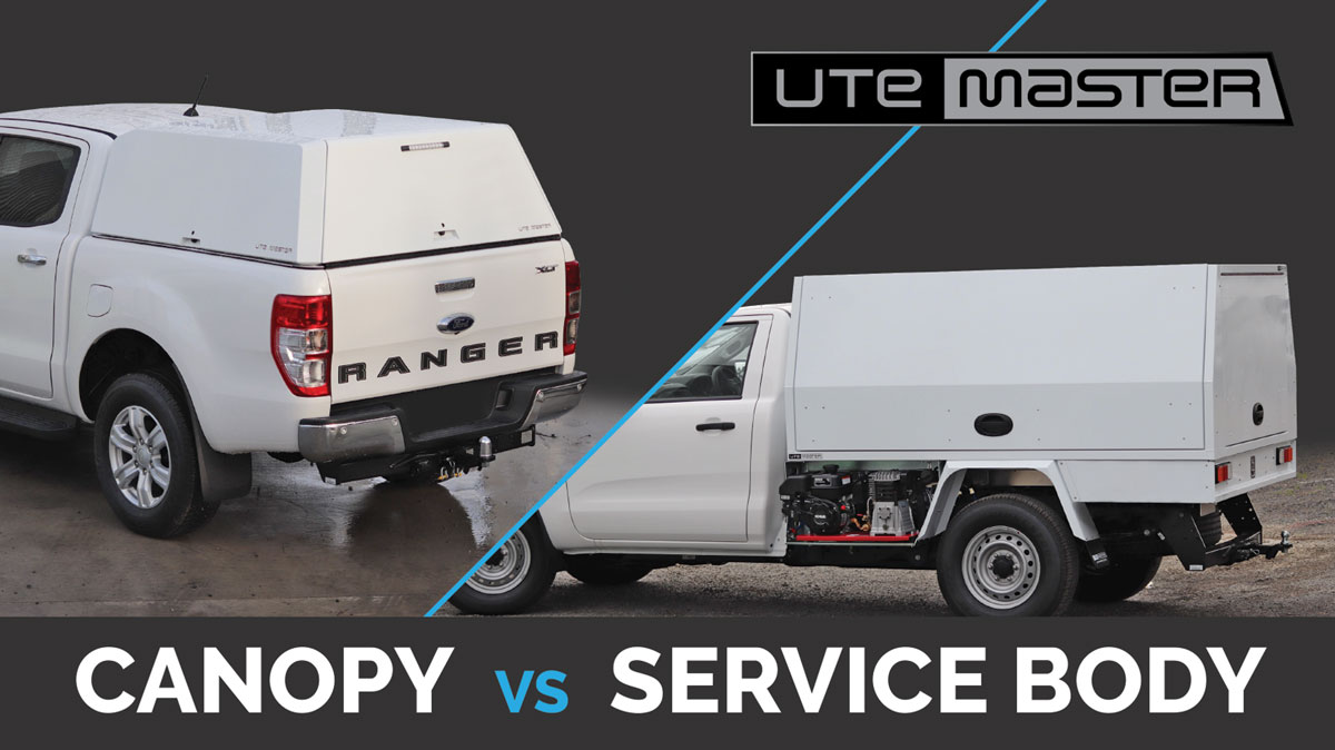 Ute Canopy vs Service Body