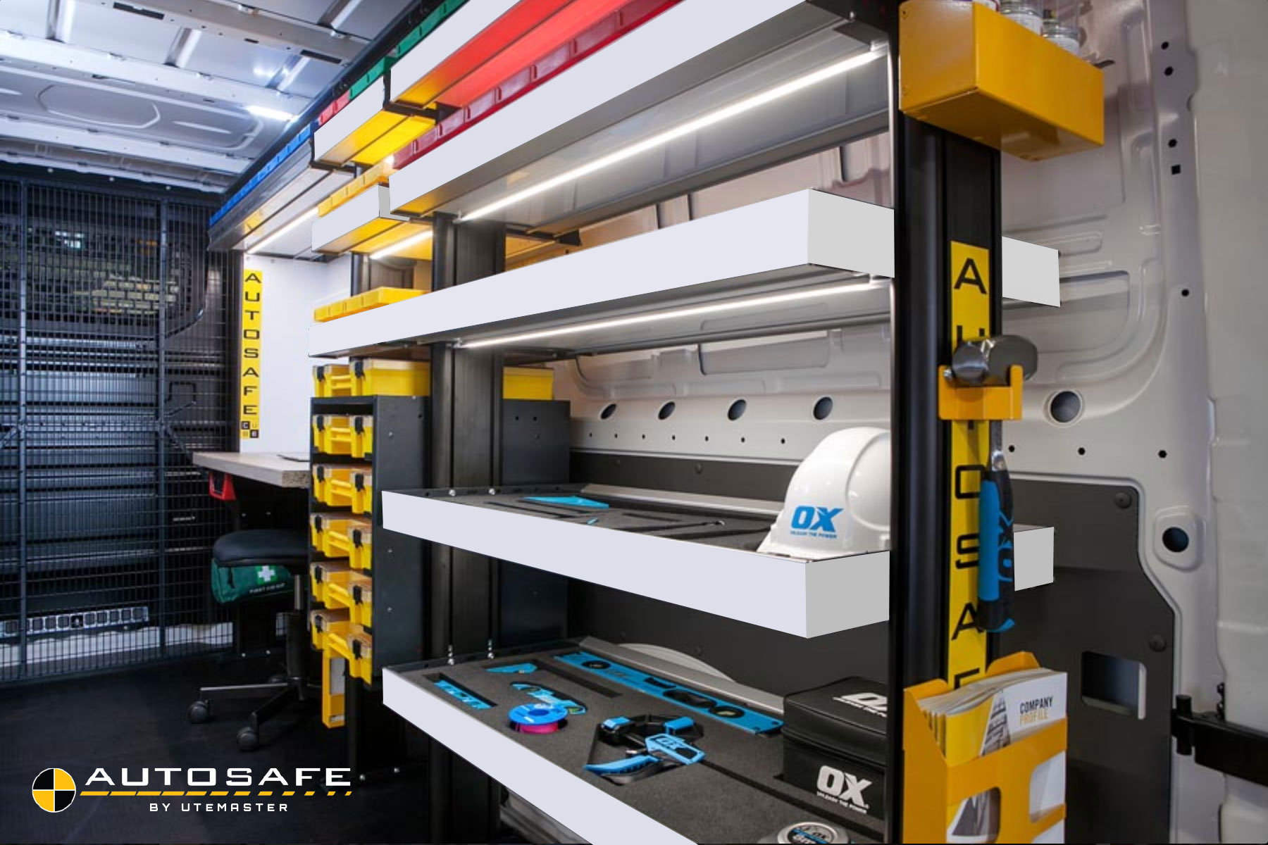 Autosafe By Utemaster Van Shelving Made Easy Commercial Fleets