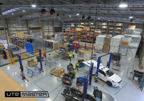 Utemaster Factory In house manufacturing capabilites