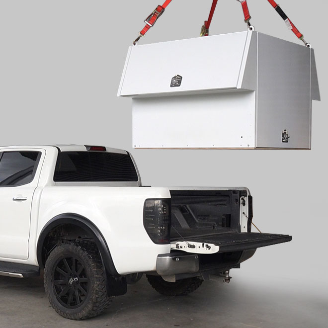 Utemaster Lift Off Toolbox Ranger Commercial Service Ute Box Body Wellside Tradie Hub