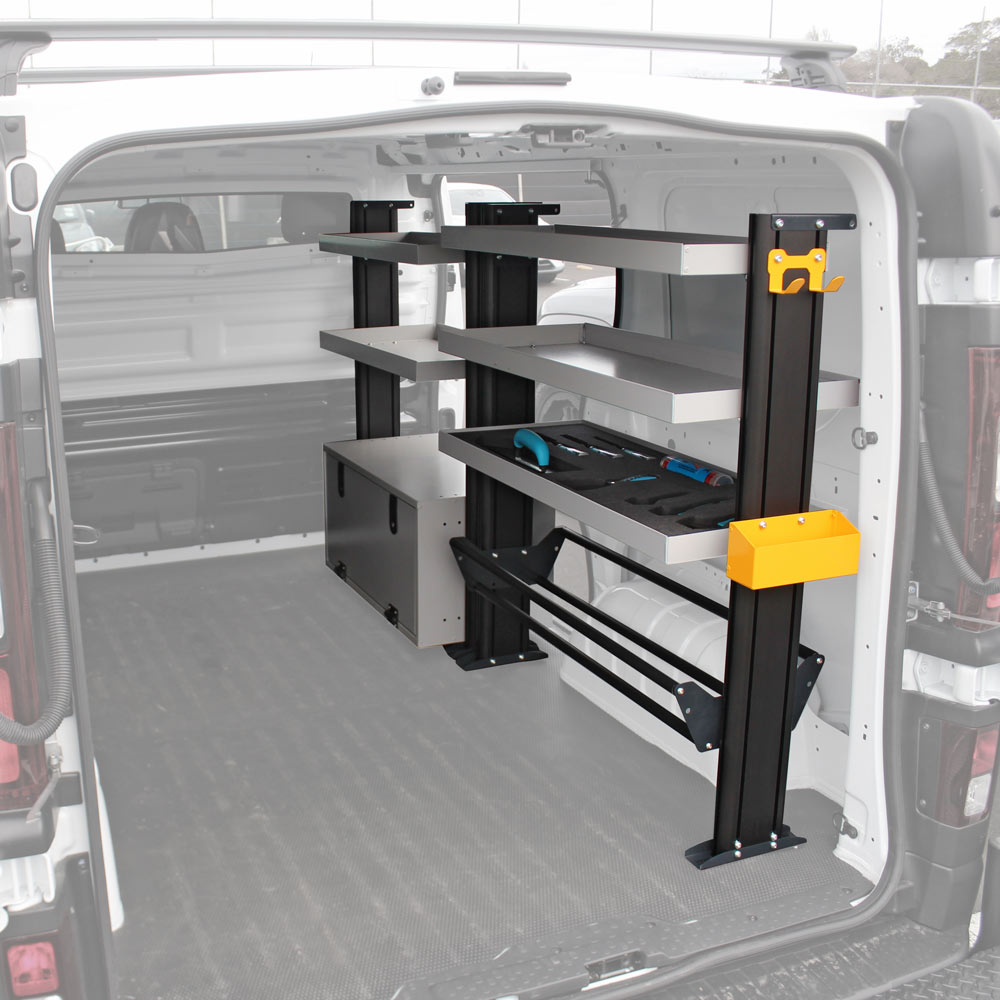 Van Shelving to suit Mitsubishi Express