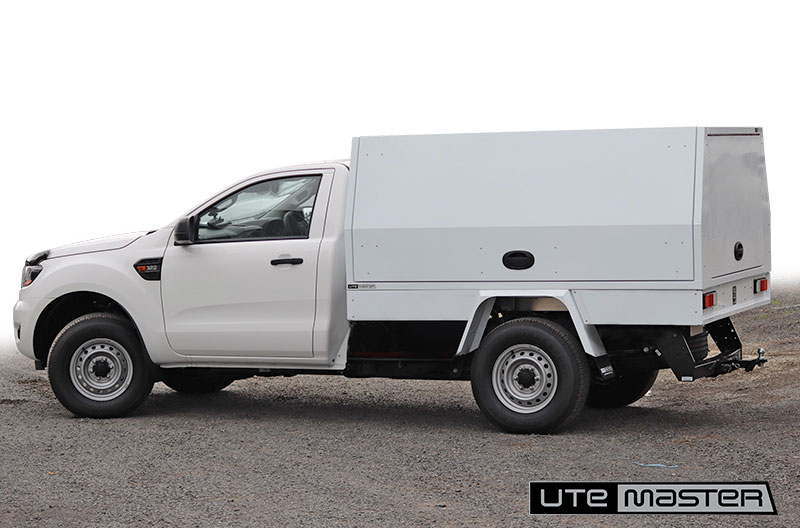 Utemaster Service Body to suit Single Cab Ute Commercial Box Body Fitout Ford Ranger