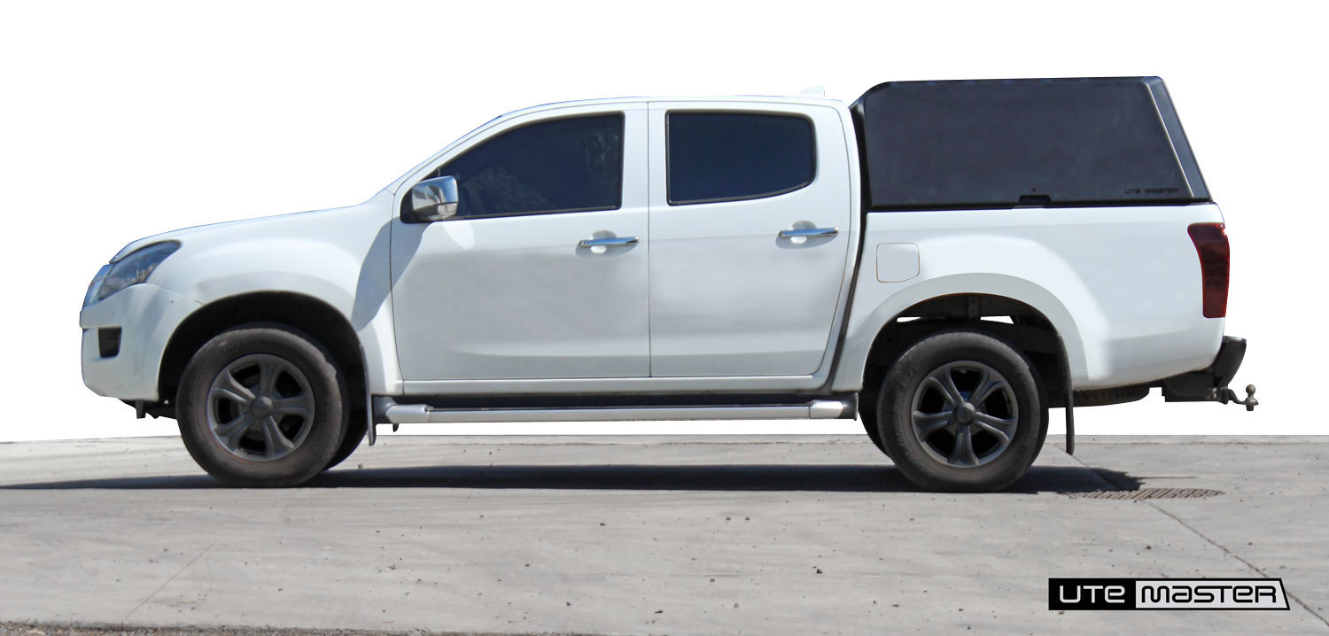 Isuzu D Max Aluminium Canopy by Utemaster without roof tray