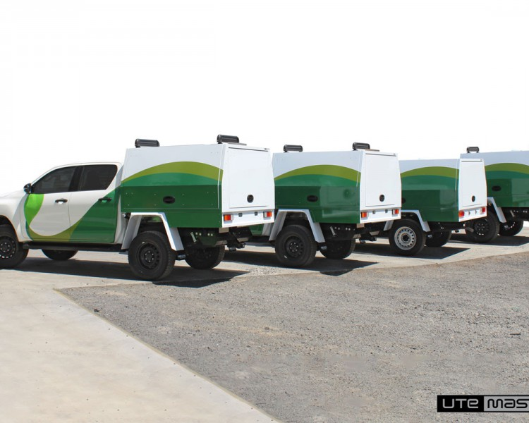 Agriculture Commercial Vehicle Fleet by Utemaster