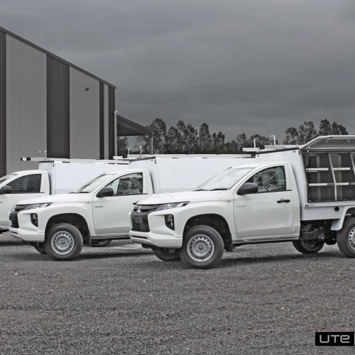 Commercial Service Body Fleet by Utemaster Mitsubishi Triton Box Body Toolbox