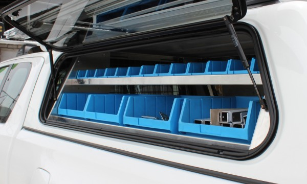 Hilux Canopy Shelving Exterior_Utemaster Commercial